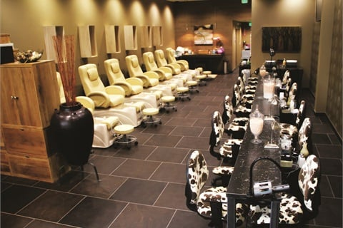 Located in Denver's Cherry Creek Mall, Posh Nails prides itself on cleanliness, which is why the salon sees so much foot traffic.
