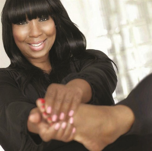 <p>Expert pedicurist Gloria L. Williams has her own line of foot care products.</p>