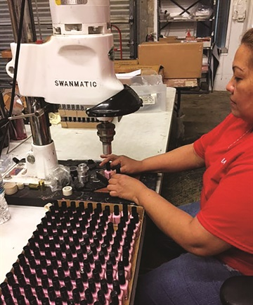 <p>Diamond Cosmetics can supply bottles, caps, treatments, and a large variety of color choices.</p>