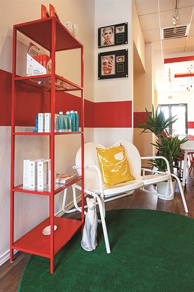 <p>In addition to nail services, Red Betty offers eyelash extensions, facials, massages, and waxing services.</p>