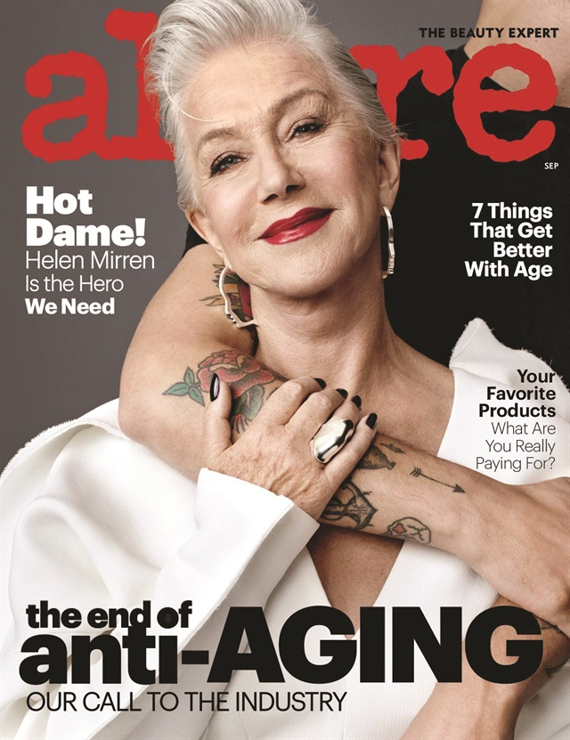 <p>November 2017Allure; Nails by Marian Newman</p>
