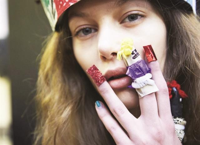 <p>Marian Newman for Vivienne Westwood</p>