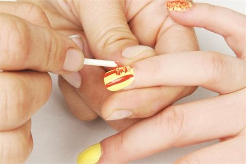 Kimmie Kyees Q Tip Nail Art Technique Technique Nails Magazine