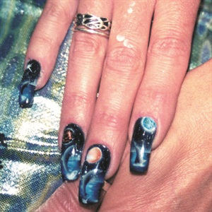 "<p>UK-based nail artist and airbrush educator Katherine Rae says, ""I earn more doing airbrushing than I do reblancing, and I get a lot of enjoyment from it.""</p>"