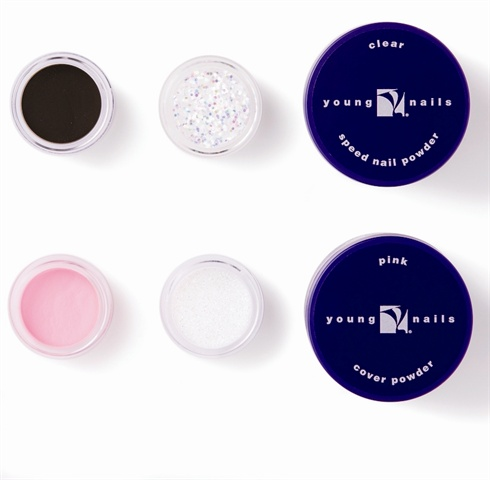 Young Nails Imagination Art Powders Come In 11 Diffe Collections Of Colored Acrylic To Make Nail Fun Easy And Quick Complete