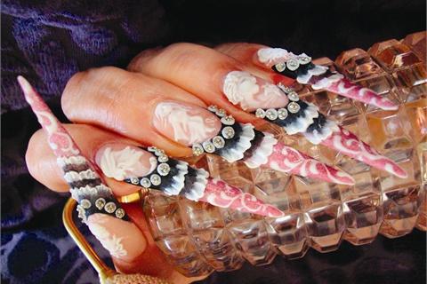 Designer Nails Tutorial Technique Nails Magazine