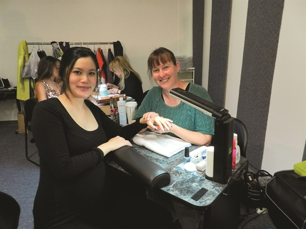 <p>Maggie Franklin's clients know she loves doing nail art. She says 40% of her business is acrylic, 30% is traditional gel, and 30% is gel-polish. And most of her clients wear some sort of nail art most of the time.</p>