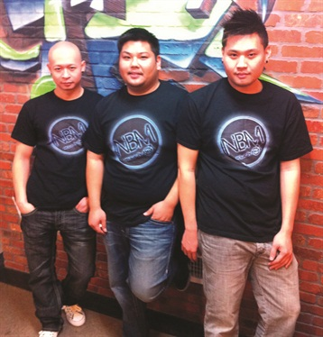 Rick Hoang, Tai Nguyen, and Q Nguyen, are co-owners of Nails By Males inside Pink's Salon.