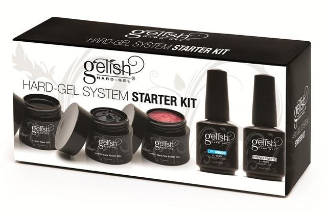 Gelish Hard Gel Starter Kit - Technique - NAILS Magazine