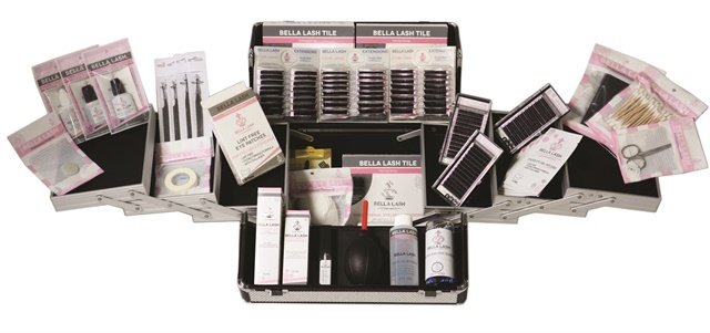 "<p>Bella Lash's training consists of a rigorous two-day program of theory and application. Their kits contain all the lashes and tools you need to get started and come in beautiful, durable carrying cases. Available in a small size training kit, a large kit, and a platinum kit. <a href=""http://www.bellalashextensions.com"">www.bellalashextensions.com</a></p>"