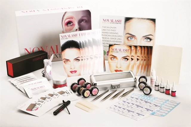 "<p>NovaLash carries synthetic and synthetic mink lashes in various lengths and curvatures, and offers a basic one-day training with a theory section and practical/hands-on section. At the end of the class the student is provided a certificate by the company. <a href=""http://www.novalash.com"">www.novalash.com</a>.</p>"