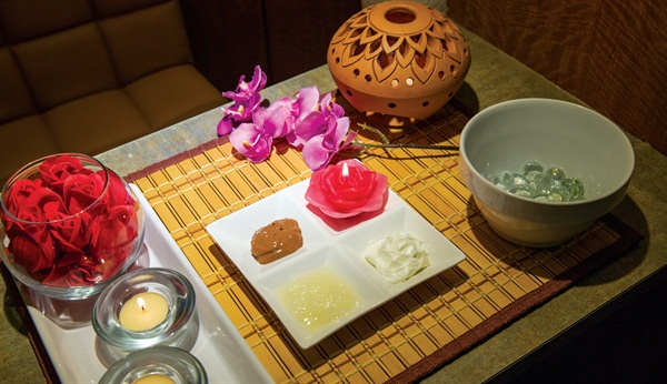 <p>Moroccan Sugar Scrub Manicure, Modern Day Spa, Arlington, Va.</p>