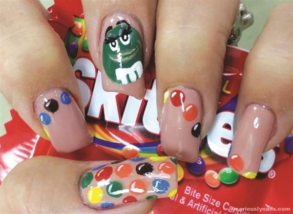 <p>Day 12, February: Favorite candy by Shannon Rooney</p>