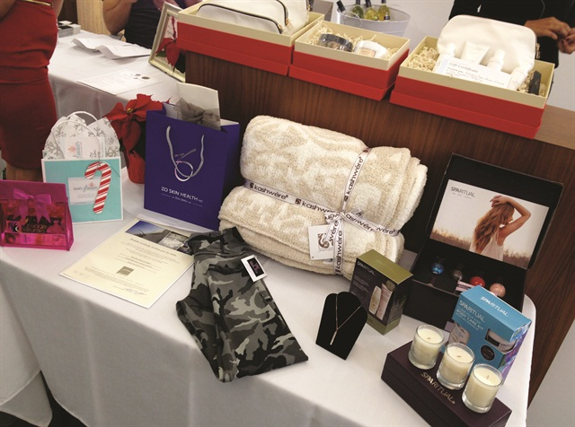 There are a variety of retail items selected to uplift and enrich clients' lives.