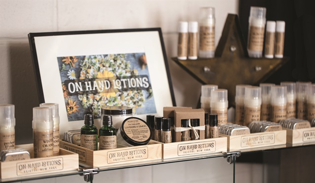 <p>Gallery Salon in Rochester, N.Y., uses On Hand organic lotions in all their services.</p>