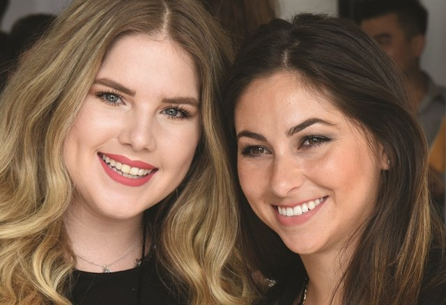 <p>Taylor Daniel and Morgan Haile grew up in the nail industry.</p>