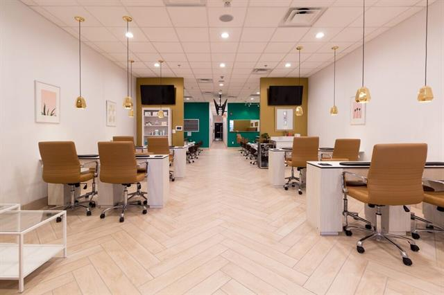 <p>The salon was the first to introduce dips back into the local market, <br />and Brown says it's their most popular service.</p>