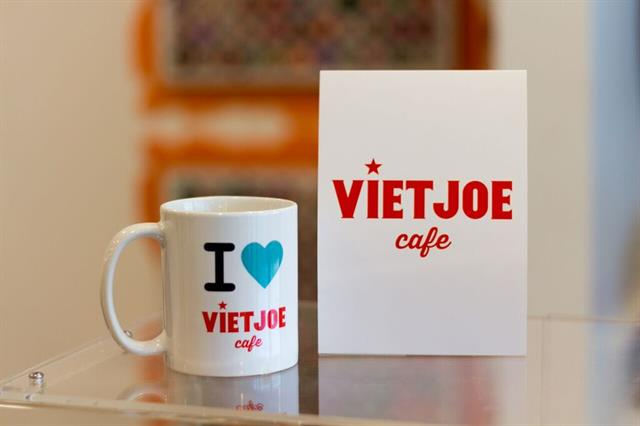 Viet Joe Cafe is a coffee shop within the salon, also owned and operated by the Browns.
