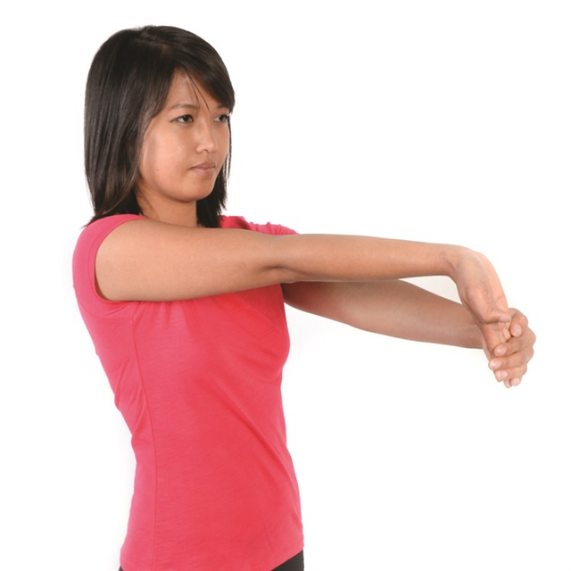 <p>Do exercises to maintain strength and mobility, and be sure to stretch the wrist and fingers.</p>