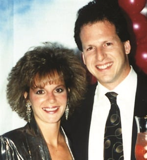 <p>Way back then ... Larry Gaynor (here withhis wife Teresa) started his company to fill a need for supplying manicurists with much-needed products.</p>
