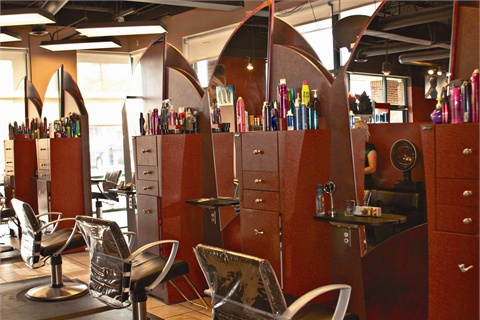 <p>Shannon Stickman, co-owner of Seven Salon, in Omaha, Neb., was looking for more space when she found this location with a modern feel near a main intersection in Omaha.</p>