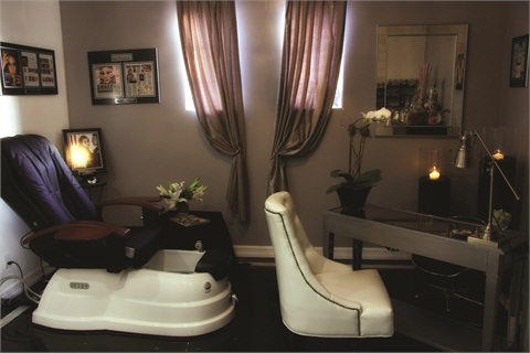 "<p class=""NoParagraphStyle"">Personalized pedicures, custom nail work, and an endless candy supply make Nail Candy Lounge a relaxing place.</p>"