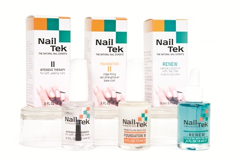 Nail Tek S Re Damaged Nails Kit Helps Repair Weak Back To Health And Vitality The Includes Ii Foundation A Base Coat With