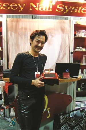 <p>Odyssey Nail System CEO Trang Nguyen debuted his new dual LED and CFL Combo UV Lamp at the 2012 International Salon & Spa Expo Long Beach in January.</p>