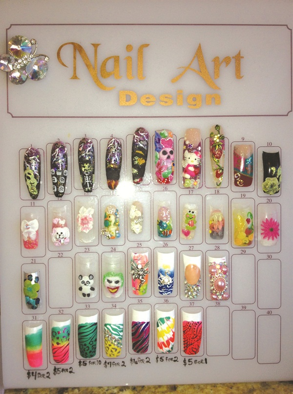 Show us yourclever nail art displays business nails magazine i use a few techniques to show off my work i have a nail album with all of my work clients can browse through it while they are waiting or if they prinsesfo Image collections