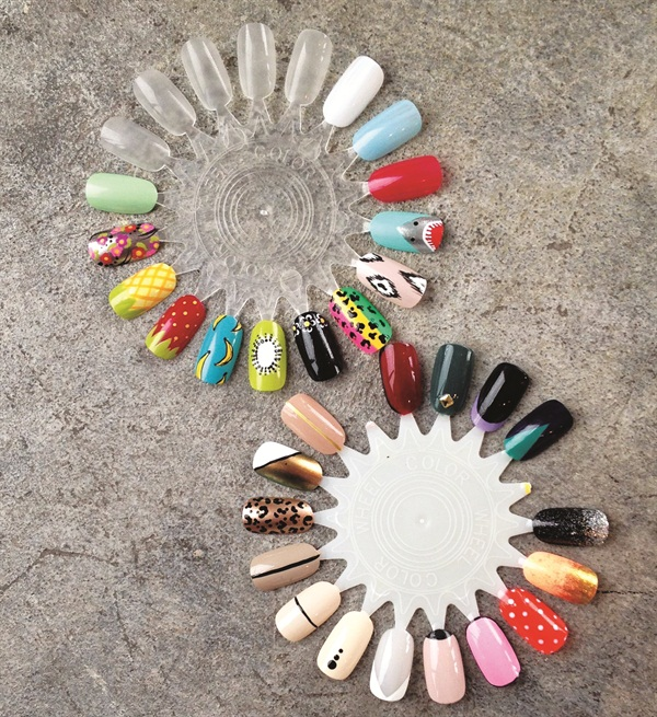 Nail Art Lounge: Show [Us] Your…Clever Nail Art Displays