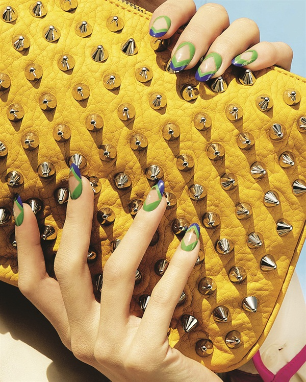 <p>Nail art and photography by Madeline Poole, Nailing Hollywood Productions for Steve Madden </p>
