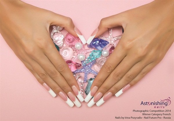 <p>Winner French category: Irina Pozyvailo, Nail Future Pro, Russia</p>