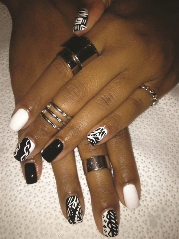 <p>Freehand nail art is one of Very Polished Nail Lounge's specialties.</p>