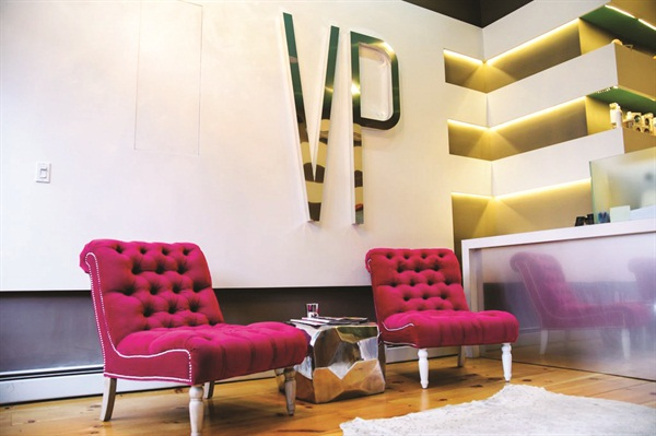 <p>The salon is located in one of Brooklyn's trendiest areas.</p>