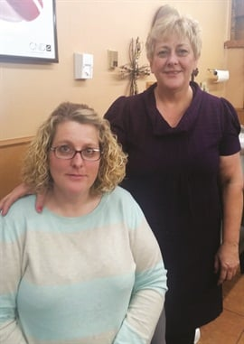 Kristie Cole and Vicki Jones keep Stailey's a family-run business.