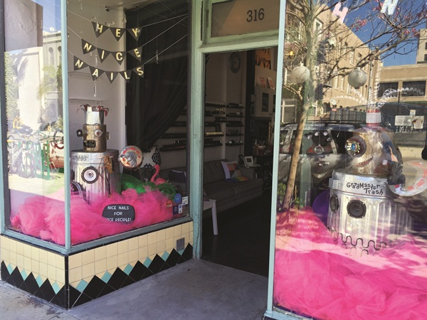<p>The name Hey, Nice Nails started out as a joke when naming a blog, but it's become so catchy that the owners are working to trademark it.</p>