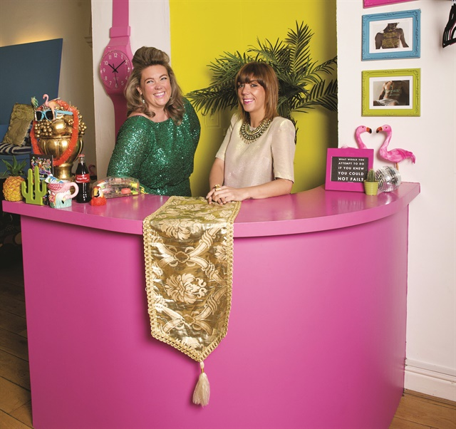 <p>Andrea (left) and Michelle (right) Horan came up with the idea for Tropical Popical when they explored nail salons while traveling across the United States.</p>
