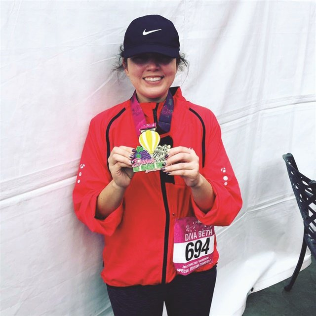 Reading your Healthy Nail Tech stories was part of what motivated me to finish my first half-marathon.