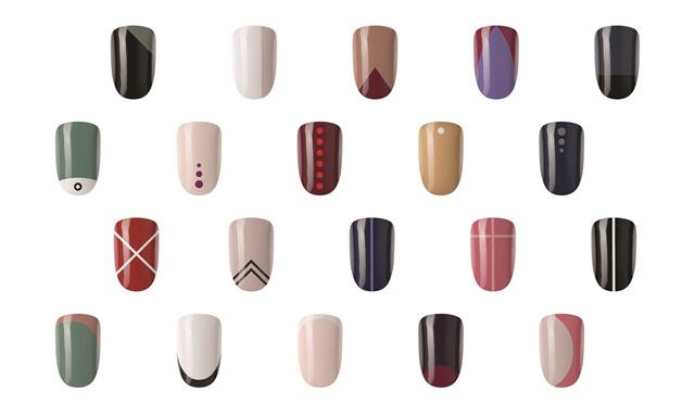 5 Minimalist Nail Art Concepts to Attract New Customers - Topic - Geometric Nail Art - NAILS Magazine