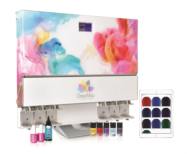 Dreamau Machine Mixes Custom Lacquer Colors In Minutes Style