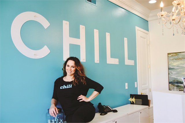<p>Owner Kelly Foral worked as a manager and manicurist before purchasing Chill in October 2016.</p>