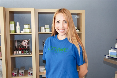 Owner Joezette Hite oversees all of Crave's operations and uses her experience in the pharmaceuticals industry to help clients get the right treatments for their nails and skin.