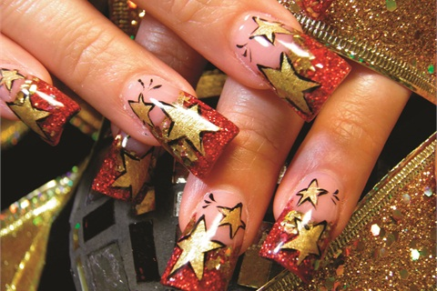 "<p>Mica Coffman, 24, is a regular client of Franklin's, and says she prefers the wider nails because they ""look fake.""</p>"