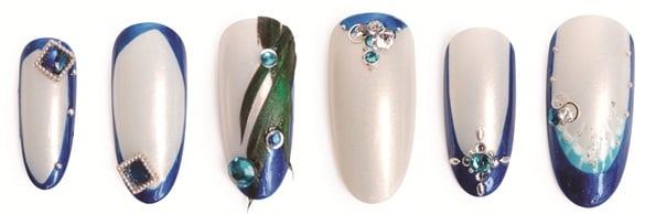"<p>Nails by Fumic Sueyoshi, <a href=""http://www.jewelrynailist.com"">www.jewelrynailist.com</a>, New York City</p>"