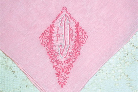 "<p>Embroidered handkerchiefs as bridesmaid accessories. Photo courtesy <a href=""http://etsy.com/shop/HankyLady"">etsy.com/shop/HankyLady</a></p>"