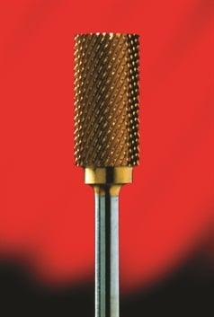 <p>A one-cut carbide bit will not work in the reverse spin direction because the teeth face the other way.</p>