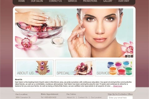 Website Template Puts a Professional Site Within Reach - Business ...