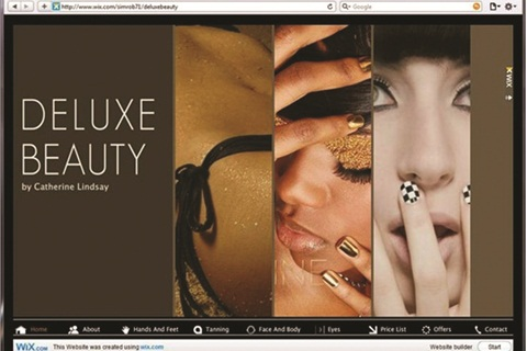 Wix Is For Web Do It Yourselfers Business Nails Magazine