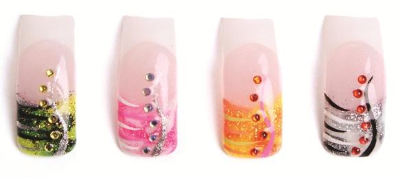 1 Nail Art Design 4 Ways Style Nails Magazine
