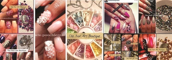 The nail art boutique supply shop style nails magazine requests from other nail artists asking where she gets her supplies nail tech tashina poochie green decided to open an online nail art supply shop prinsesfo Gallery